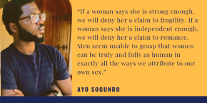 A LESSON ON SEXISM FOR NIGERIAN MEN | by AyoSogunro
