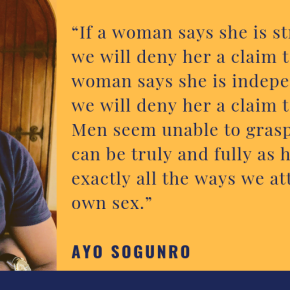 A LESSON ON SEXISM FOR NIGERIAN MEN | by Ayo Sogunro