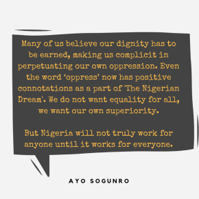 Why we must not be fearful of equal rights | by Ayo Sogunro