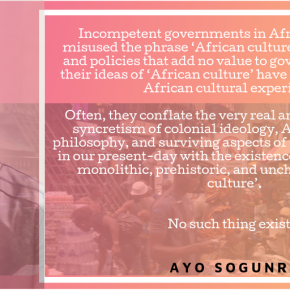 The Nigerian culture that Runsewe does not know | by Ayo Sogunro